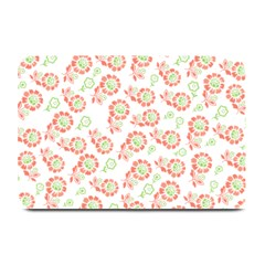 Flower Floral Red Star Sunflower Plate Mats