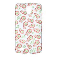 Flower Floral Red Star Sunflower Galaxy S4 Active