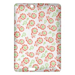 Flower Floral Red Star Sunflower Amazon Kindle Fire HD (2013) Hardshell Case