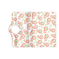 Flower Floral Red Star Sunflower Kindle Fire HD (2013) Flip 360 Case