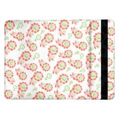 Flower Floral Red Star Sunflower Samsung Galaxy Tab Pro 12.2  Flip Case