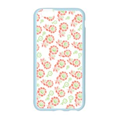 Flower Floral Red Star Sunflower Apple Seamless iPhone 6/6S Case (Color)