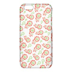 Flower Floral Red Star Sunflower iPhone 6/6S TPU Case