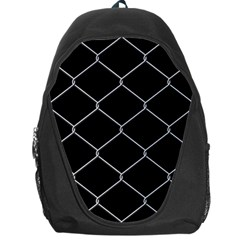 Iron Wire White Black Backpack Bag
