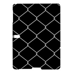 Iron Wire White Black Samsung Galaxy Tab S (10.5 ) Hardshell Case