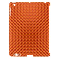 Heart Orange Love Apple iPad 3/4 Hardshell Case (Compatible with Smart Cover)