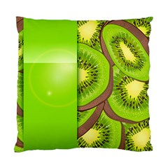 Fruit Slice Kiwi Green Standard Cushion Case (Two Sides)