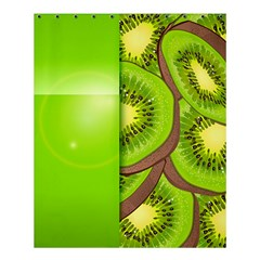 Fruit Slice Kiwi Green Shower Curtain 60  x 72  (Medium)