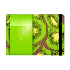 Fruit Slice Kiwi Green iPad Mini 2 Flip Cases