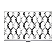 Iron Wire Black White Business Card Holders