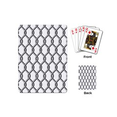Iron Wire Black White Playing Cards (Mini)