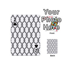 Iron Wire Black White Playing Cards 54 (Mini)