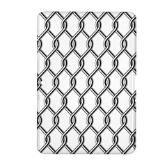Iron Wire Black White Samsung Galaxy Tab 2 (10 1 ) P5100 Hardshell Case