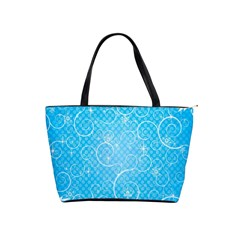Leaf Blue Snow Circle Polka Star Shoulder Handbags