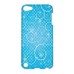 Leaf Blue Snow Circle Polka Star Apple iPod Touch 5 Hardshell Case