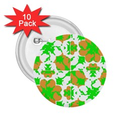 Graphic Floral Seamless Pattern Mosaic 2.25  Buttons (10 pack)