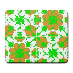 Graphic Floral Seamless Pattern Mosaic Large Mousepads