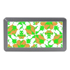 Graphic Floral Seamless Pattern Mosaic Memory Card Reader (Mini)