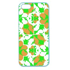 Graphic Floral Seamless Pattern Mosaic Apple Seamless iPhone 5 Case (Color)