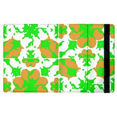 Graphic Floral Seamless Pattern Mosaic Apple iPad 3/4 Flip Case