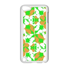 Graphic Floral Seamless Pattern Mosaic Apple iPod Touch 5 Case (White)