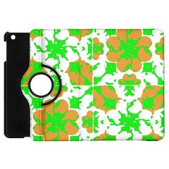 Graphic Floral Seamless Pattern Mosaic Apple iPad Mini Flip 360 Case