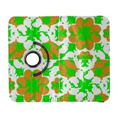 Graphic Floral Seamless Pattern Mosaic Galaxy S3 (Flip/Folio)