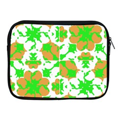 Graphic Floral Seamless Pattern Mosaic Apple iPad 2/3/4 Zipper Cases