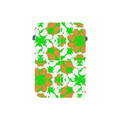Graphic Floral Seamless Pattern Mosaic Apple iPad Mini Protective Soft Cases