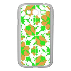 Graphic Floral Seamless Pattern Mosaic Samsung Galaxy Grand DUOS I9082 Case (White)
