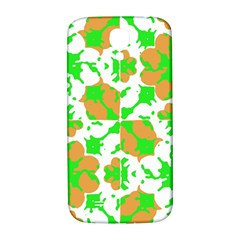 Graphic Floral Seamless Pattern Mosaic Samsung Galaxy S4 I9500/I9505  Hardshell Back Case