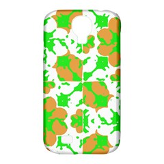 Graphic Floral Seamless Pattern Mosaic Samsung Galaxy S4 Classic Hardshell Case (PC+Silicone)