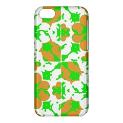 Graphic Floral Seamless Pattern Mosaic Apple iPhone 5C Hardshell Case