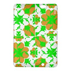 Graphic Floral Seamless Pattern Mosaic Kindle Fire HDX 8.9  Hardshell Case