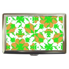 Graphic Floral Seamless Pattern Mosaic Cigarette Money Cases