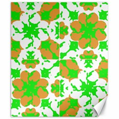 Graphic Floral Seamless Pattern Mosaic Canvas 20  x 24