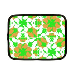 Graphic Floral Seamless Pattern Mosaic Netbook Case (Small)