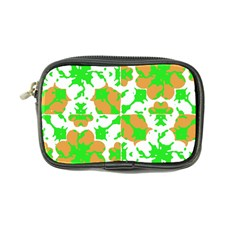 Graphic Floral Seamless Pattern Mosaic Coin Purse