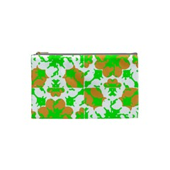 Graphic Floral Seamless Pattern Mosaic Cosmetic Bag (Small)