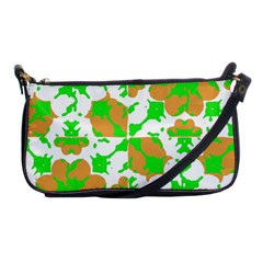Graphic Floral Seamless Pattern Mosaic Shoulder Clutch Bags