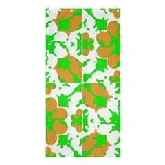Graphic Floral Seamless Pattern Mosaic Shower Curtain 36  x 72  (Stall)