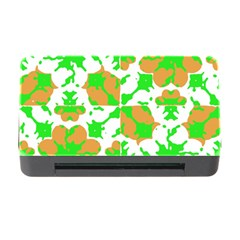 Graphic Floral Seamless Pattern Mosaic Memory Card Reader with CF