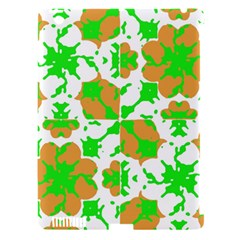 Graphic Floral Seamless Pattern Mosaic Apple iPad 3/4 Hardshell Case (Compatible with Smart Cover)