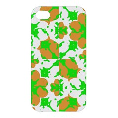 Graphic Floral Seamless Pattern Mosaic Apple iPhone 4/4S Premium Hardshell Case