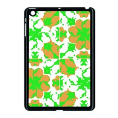 Graphic Floral Seamless Pattern Mosaic Apple iPad Mini Case (Black)