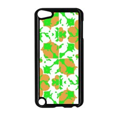 Graphic Floral Seamless Pattern Mosaic Apple iPod Touch 5 Case (Black)