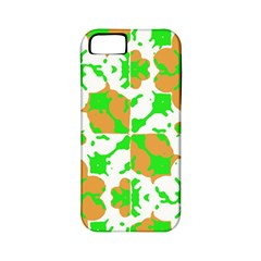 Graphic Floral Seamless Pattern Mosaic Apple iPhone 5 Classic Hardshell Case (PC+Silicone)