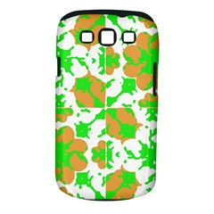 Graphic Floral Seamless Pattern Mosaic Samsung Galaxy S III Classic Hardshell Case (PC+Silicone)