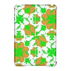 Graphic Floral Seamless Pattern Mosaic Apple iPad Mini Hardshell Case (Compatible with Smart Cover)