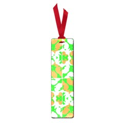 Graphic Floral Seamless Pattern Mosaic Small Book Marks